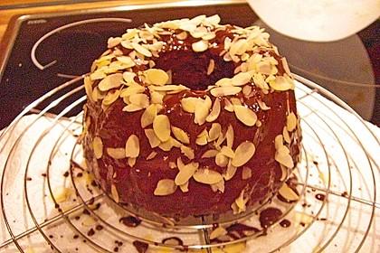 Veganer Schoko - Nuss - Kokos - Kuchen 37