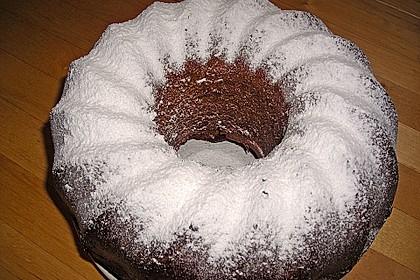 Veganer Schoko - Nuss - Kokos - Kuchen 36