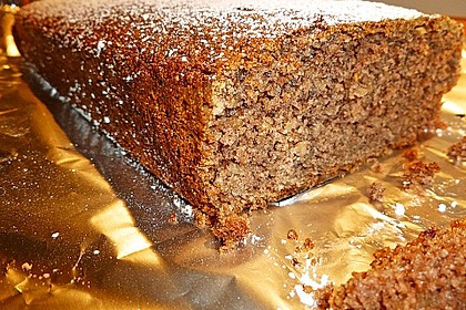 Veganer Schoko - Nuss - Kokos - Kuchen 2