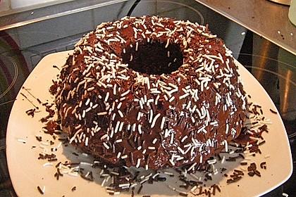 Veganer Schoko - Nuss - Kokos - Kuchen 32