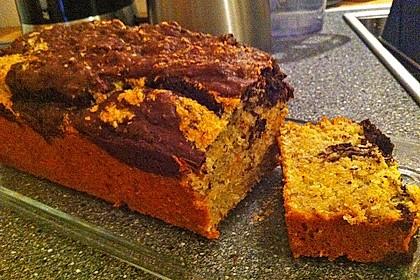 Veganer Schoko - Nuss - Kokos - Kuchen 46