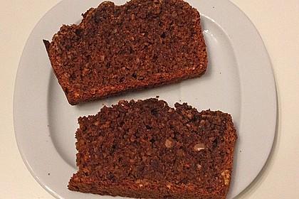 Veganer Schoko - Nuss - Kokos - Kuchen 24