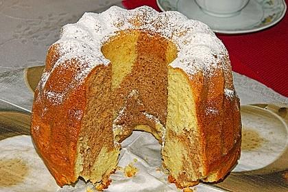 Veganer Schoko - Nuss - Kokos - Kuchen 11