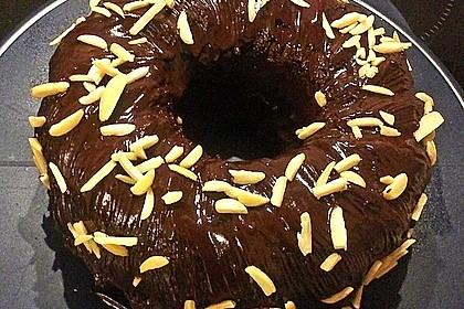 Veganer Schoko - Nuss - Kokos - Kuchen 4