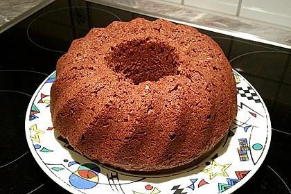 Veganer Schoko - Nuss - Kokos - Kuchen 6
