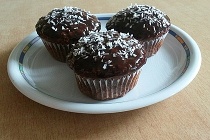 Veganer Schoko - Nuss - Kokos - Kuchen 34