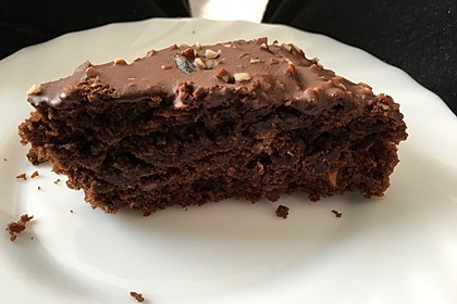 Veganer Schoko - Nuss - Kokos - Kuchen 7
