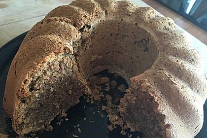 Veganer Schoko - Nuss - Kokos - Kuchen 45