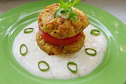 Kartoffel - Käse - Törtchen mit Tomaten 1