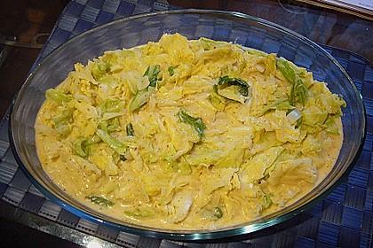 Rahmwirsing mit Kartoffelkruste 4