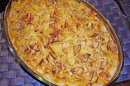 Rahmwirsing mit Kartoffelkruste 1