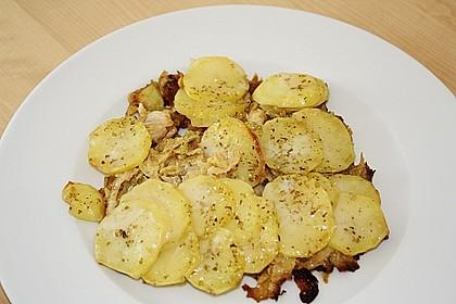 Rahmwirsing mit Kartoffelkruste