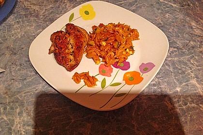 Griechische Reisnudelpfanne mit Hähnchenbrustfilet 2
