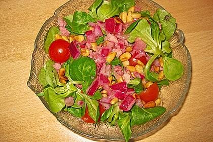 Rucola - Salat mit Pinienkernen 4