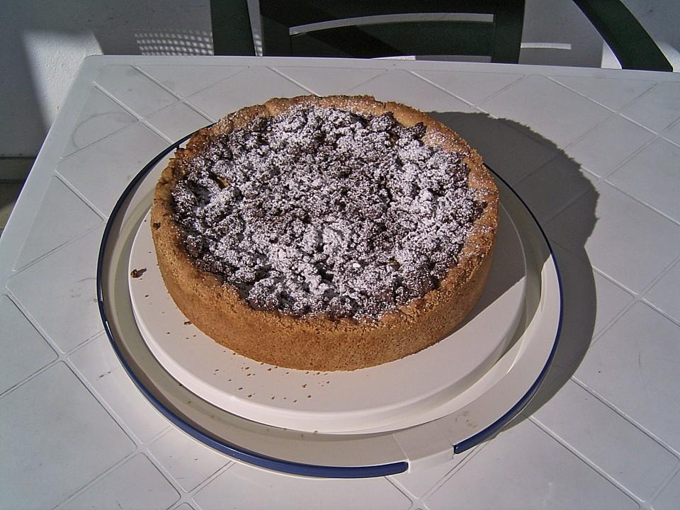 apfelkuchen mit pudding und kakao zimt streuseln. Black Bedroom Furniture Sets. Home Design Ideas