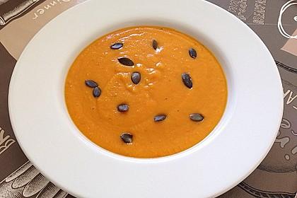 Kürbis-Apfel-Suppe 4