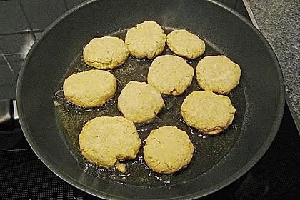 Kartoffel - Tofu Bällchen in Sesam 2