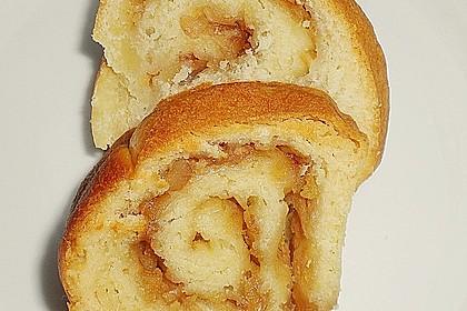 Apfel - Walnusskrokant - Hupf