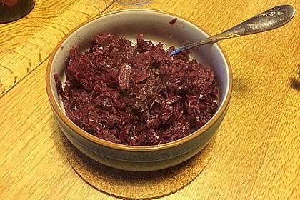 Fruchtiger Rotkohl mit Portwein 14