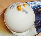 Orangentrüffel mit Lavendel (Bild)