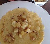 Crêpes mit Apfelkompott
