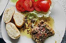 Putenschnitzel in Alufolie