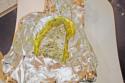 Putenschnitzel in Alufolie 15