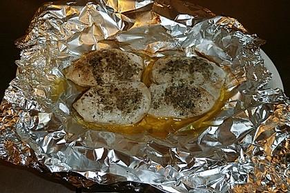Putenschnitzel in Alufolie 9