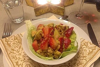 Avocado - Erdbeer - Salat mit Ingwer Dressing 18