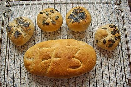 Brot und Brötchen schleifen 16