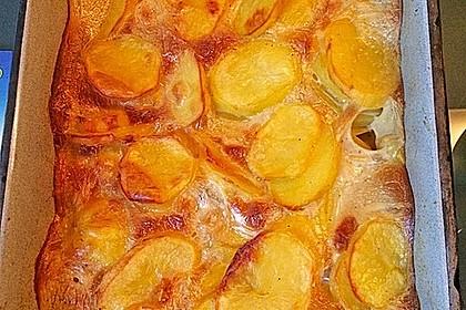 Spargel mit Sauce Hollandaise, gebratenem Schweinefilet und Kartoffelgratin 28