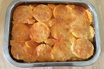 Süßkartoffel - Auflauf mit Hackfleisch 15