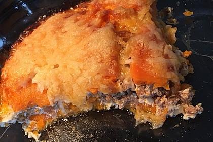 Süßkartoffel-Auflauf mit Hackfleisch 49
