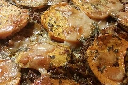 Süßkartoffel-Auflauf mit Hackfleisch 21