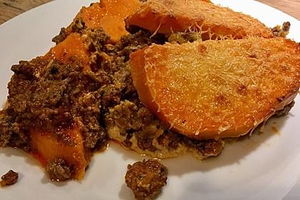 Süßkartoffel-Auflauf mit Hackfleisch 8