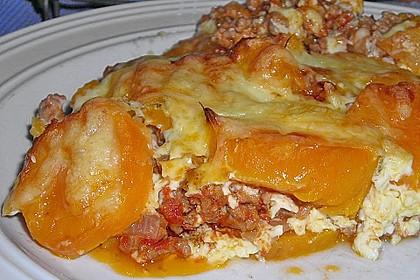 Süßkartoffel-Auflauf mit Hackfleisch 23