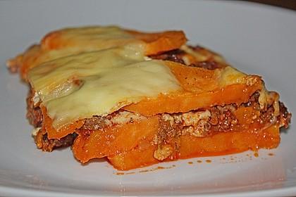 Süßkartoffel-Auflauf mit Hackfleisch 4