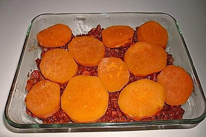 Süßkartoffel-Auflauf mit Hackfleisch 45