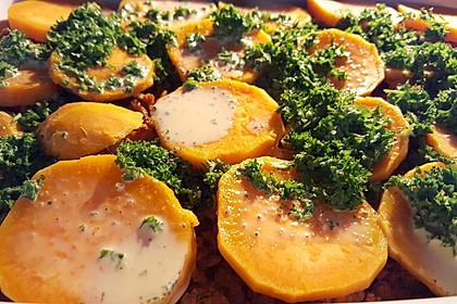 Süßkartoffel-Auflauf mit Hackfleisch 25
