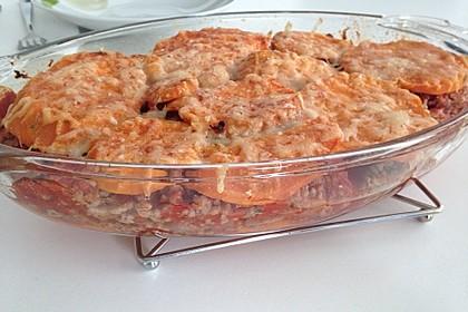 Süßkartoffel-Auflauf mit Hackfleisch 33