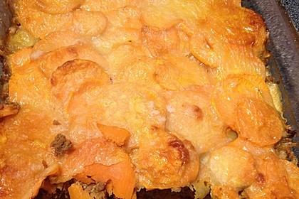 Süßkartoffel - Auflauf mit Hackfleisch 35