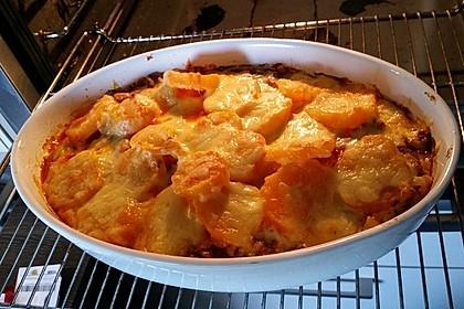 Süßkartoffel-Auflauf mit Hackfleisch 32
