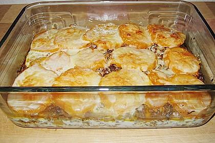 Süßkartoffel-Auflauf mit Hackfleisch 17