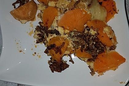 Süßkartoffel - Auflauf mit Hackfleisch 39