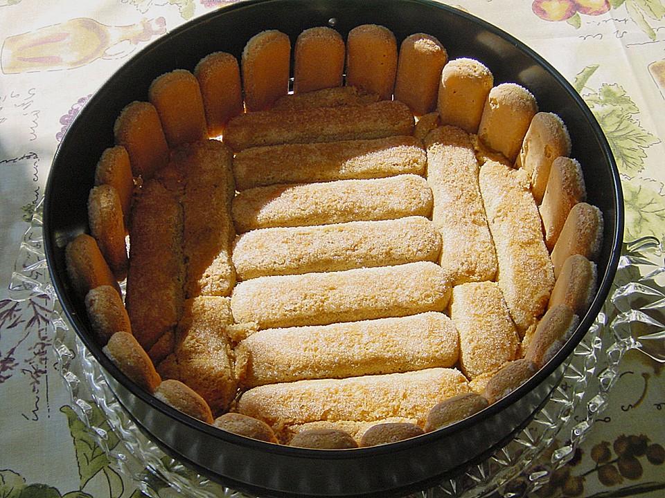 Kuchen mit loffelbiskuit rezept