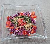 Chinakohl - Paprika - Salat (Bild)