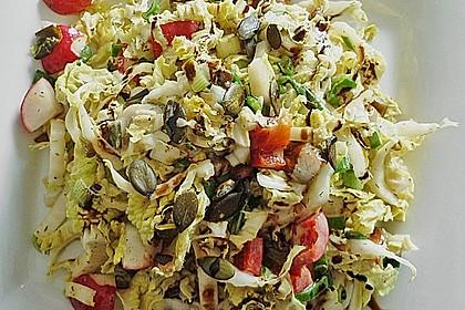 Chinakohl - Paprika - Salat 1