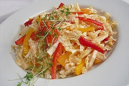 Chinakohl - Paprika - Salat