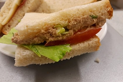 Thunfisch - Sandwich - Aufstrich