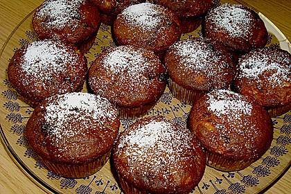 Apfel - Nougat - Muffins 11